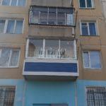 раздвижное остекление балкона 10