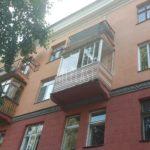 остекление балкона в сталинке объект 14