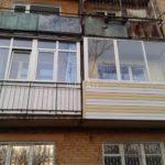остекление балкона объект 5